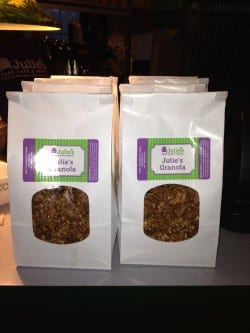 Julie 39 s granola homemade door county deliciousness for Julie s fish creek