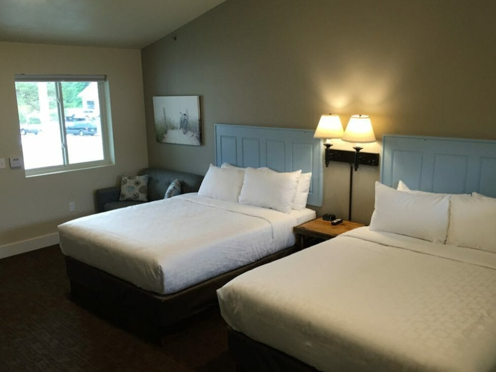 Relax in the comforts of our Fish Creek Motel located near the entrance to Peninsula State Park