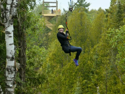 Zipline Door County