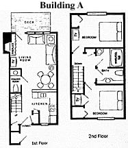 Door County Condo Building A Floorplan