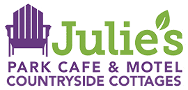 Julie's Park Cafe & Motel Logo