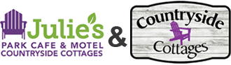 Julie's Park Cafe & Motel and Countryside Cottages Rentals in Fish Creek, WI