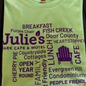 Julie's Purple Chair T-Shirt