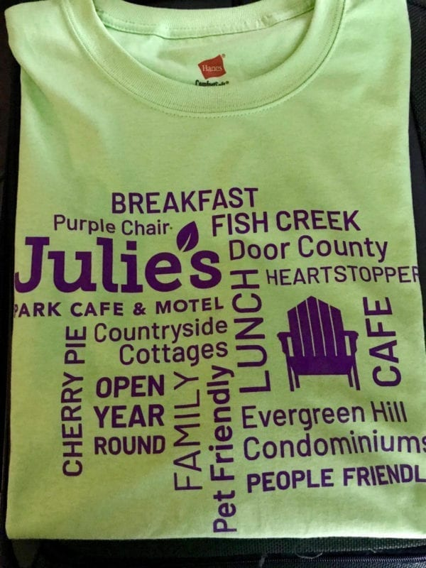 Julie's Purple Chair T-Shirt